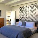 Mid Century Modern Bricks, Brick Wall Decals, Mid Century Modern Wall Art, Retro Wall Decal, Geometr