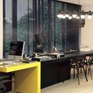 Yellow Home Offices