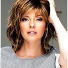 hairstyles for thin hair over 60 short shag