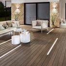 Terrassendielen-Laufstege: Holz und WPC