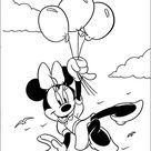 Minnie Mouse Printen kleurplaten 19