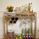 Bar Cart Styling   House of Fancy