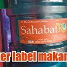 Stiker Label Makanan di Tanjungpinang