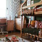 boho play room, wooden, organize, kids bedroom inspiration, natural boho interior for kids, book
