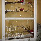 Feine Fensterbilder zu Weihnachten und Winterzeit   ArchZine