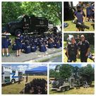 Busy afternoon today at the Cranford Police Youth Academy. We want to thank  Union County SWAT, Union County Police Bomb Squad, and the Union County Office of Emergency Management HazMat for visiting today.