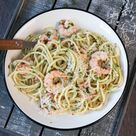 Spaghetti mit Garnelen, Knoblauch und Chili