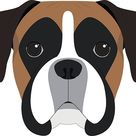 Boxer Dog Illustrations, Royalty-Free Vector Graphics & Clip Art