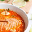 Würzige 20 Minuten Thai Chicken Soup   Kochkarussell