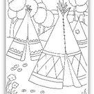 Tipi Tent | Teepee |Tepee | Wigwam | Make American Indian Home