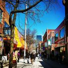 Perfect place for Chinese' food lovers.. lots of Chinese cuisines 🍝  #chinatown #in #montreal #chinese #food #best #hangout #place #downtown #stlaurent #canada #travelphotography #traveller #travel #goals #instagood #instapic #instagrammers #sunny #day #daysoff #kajoldiaries