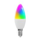 WiFi Smart Glš¹hbirne RGB + WW + CW LED Kerzenlampen E14 Kronleuchter Glš¹hbirnen SmartLife APP Fernbedienung Kompatibel mit Alexa Google Home Sprachsteuerung Dimmbar 3000K-6000K 4W (40W ?quivalent)