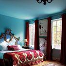 Turquoise Bedroom Walls