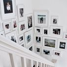 How to Make Your Own Family Photo Gallery Wall — Susie Novak Interiors
