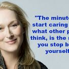 What's Your Favorite Meryl Streep Quote