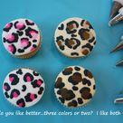 Leopard Cupcakes