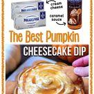 Caramel Pumpkin Pie Cheesecake Dip