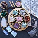 Balance Box Chakra Crystal Set by Buddha Blessings  Raw Stone | Etsy