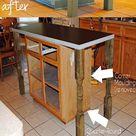 Kitchen Island Transformation