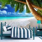 Selbstklebende Fototapete   Tropische Insel