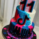 🎶 Tik Tok Birthday Set - Cake & More 🎶