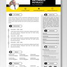 (EDITABLE) - FREE CV Templates For A School Leaver | VREZUM