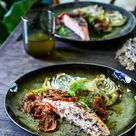 Zalm met groenten uit de oven | Pascale Naessens