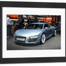 Framed Photo. Frankfurt Motor Show
