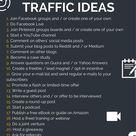 Kostenlose Traffic Quellen
