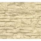 Wallick Wood Stone Brick 33' L x 21
