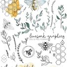 BEES & BOTANICALS | Modern Graphics