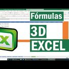 Formulas 3D   Trabajar con varias hojas en Excel