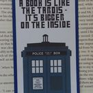 Silhouette Sunday - Doctor Who Bookmarks