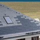 Schiefer und Solar smart gedeckt.