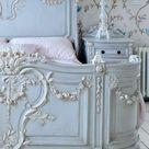 Le lit baroque en 40 photos romantiques - Archzine.fr