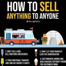 HOW TO SELL ANYTHING TO ANYONE ?