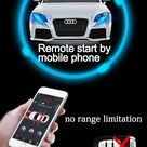 340.0US $  Security Engine Remote Starter Kit for Audi A4L/allroad quattro 2009 2014.12 Keyless Entry Work with Mobile Phone kit kits kit mobilekit starter   AliExpress