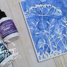 Ken Oliver Color Bursts Watercolored Technique Pieces - Catherine Pooler Designs