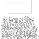 Team of denmark coloring pages - Hellokids.com