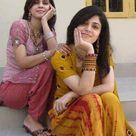 Girls in salwar kameez