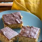 So oberlecker - -Marzipan Fans werden den Marzipan Nuss Kuchen vom Blech abgöttisch lieben