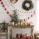 Christmas Decoration Wood Pendant Light, Modern Chandelier Lighting Fixture Brown, Minimalistic Lamp
