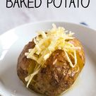 How to Make a Perfect Baked Potato (with a time saving trick!)