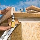 Anleitung: So baust du das Dach für ein Gartenhaus