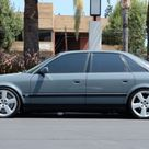 Modified 1993 Audi S4 6 Speed