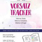 Buch - Vorsatz Tracker. Meine Ziele: Meine Vorsätze: Meine Erfolge