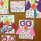 Polka dot owls