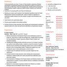 Senior Data Analyst Resume Example