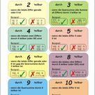 Mathematik Arbeitsblätter