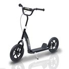 12 Tyres Scooter-Black